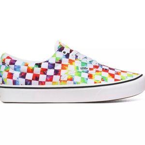 Vans Comfycush Era Tie-Dye Checker Sneakers